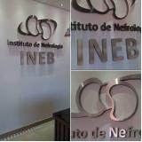 fornecedor de letra caixa em inox Brazlândia