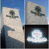 letra caixa iluminada Entorno de Brasília